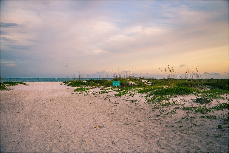 joyful sarasota photography - empty beach early in the morning