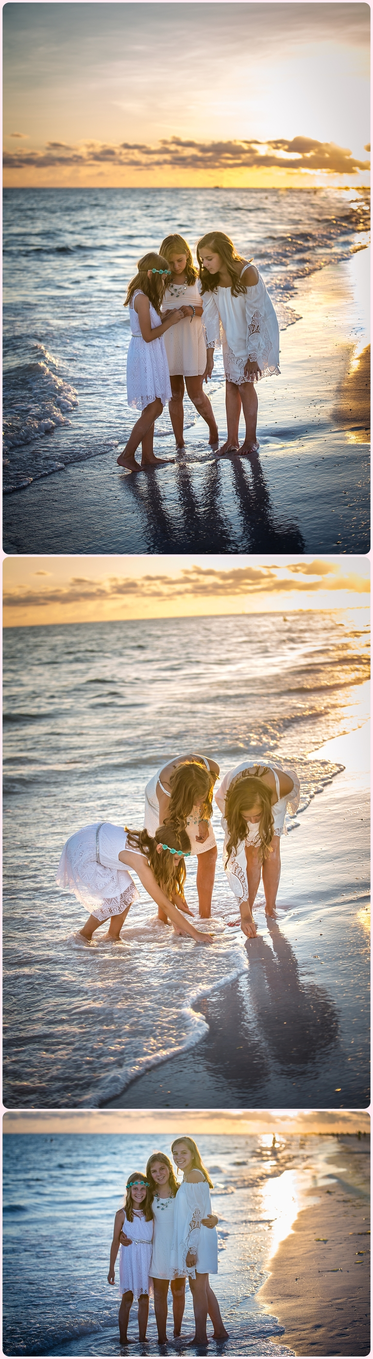 Siesta Key Sunset beach session by Sarasota portrait photographer www.ristainophotography.com