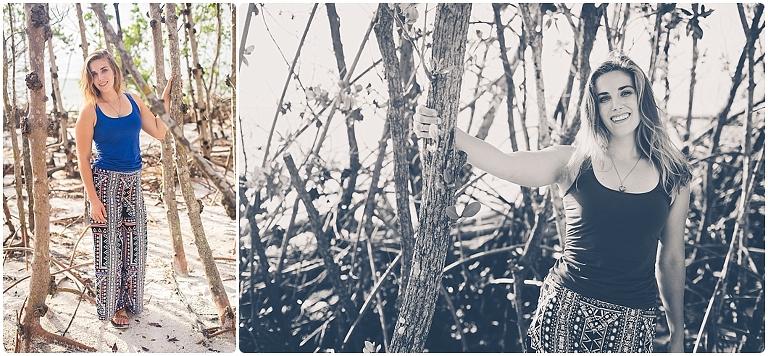 Sarasota High School Senior Photos by Sarasota Senior Photographer Ristaino Photography at Beer Can Island